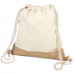 Bawełniano-jutowy plecak...